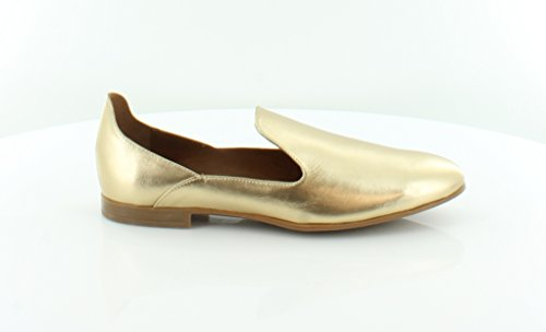 Aquatalia Emmaline Women's Flats & Oxfords Gold Size 7.5 M