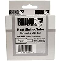 Rhino 18055 Heat Shrink Tube - White