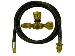 Sturgi-StayStandard Propane Adapter Kit for RV's, Campers, ()