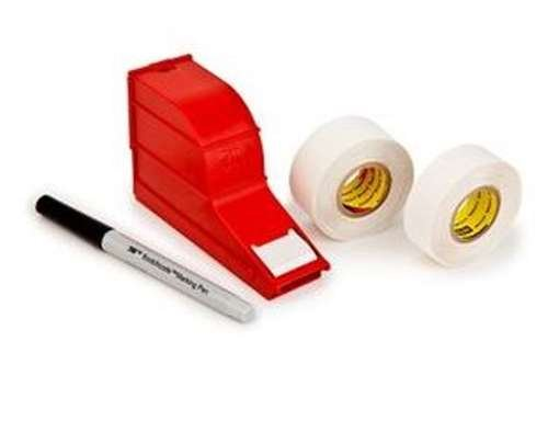 3M(TM) ScotchCode(TM) Wire Marker Write-On Dispenser with Tape and Pen SWD, 0.75 in x 1.375 in by Scotchcode