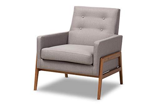 Baxton Studio 150-8741-AMZ Chairs, One Size, Grey