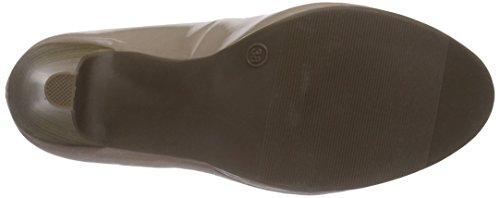 Jane Klain224 888 - Zapatos de Plataforma Mujer Beige - Beige (Nude 589)