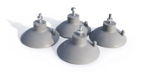 New Star Foodservice 39665 Suction Cup Feet for Industrial Commercial French Fry Cutter, Set of 4 (New Suction Cup)