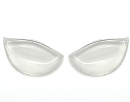 HDYD Silicone Inserts Pads Breast Enhancers for Bras Swimsuits and Bikini (White)