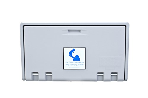 Table Horizontal Changing (AHD107-01 Grey Horizontal Baby Changing Station)