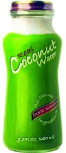 Taste Nirvana Real Coconut Water, 9.5 Ounce (Pack of 12)