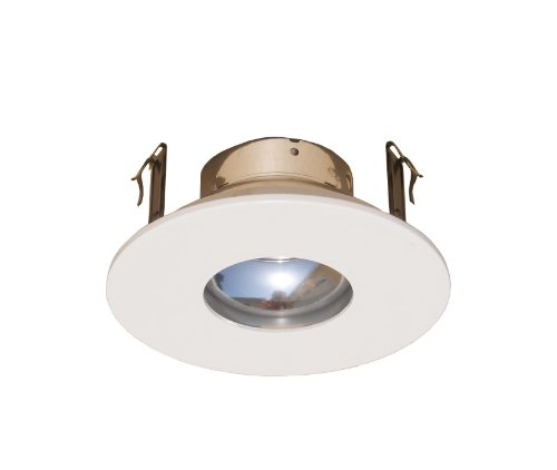 4 Inches Adjustable Pinhole Trim/Trims for Low Voltage Recessed Light/lighting-White Fit Halo/Juno