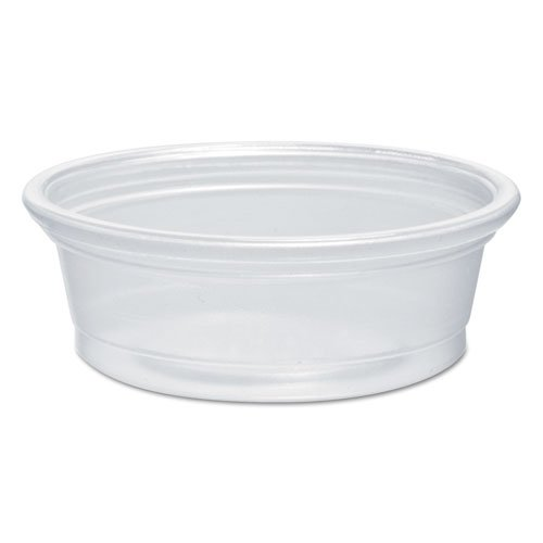 (Dart 050PC 0.5 oz Clear PP Portion Container (Case of 2500))