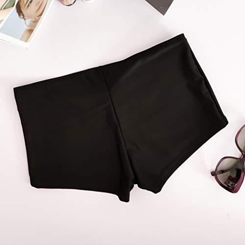 Limsea Women's 2019 Beach Swimming Stretch Swim Board Quick Dry Athletic Trunks Shorts(Medium,Black) by Limsea Bikinis (Image #4)