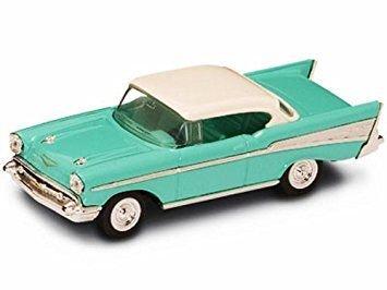 CHEVROLET BEL AIR 1957 TURQOISE 1:43 - Lucky Die Cast - Auto Stradali - Die Cast - Modellino