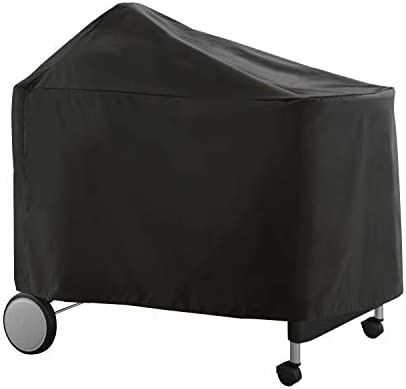 WEBER-STEPHEN PRODUCTS Performer Premium /& Deluxe Grill Cover Black
