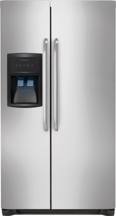 """012505607707 - Frigidaire FFHS2622MS 36"""" 26 cu. ft. Side-by-Side Refrigerator in Stainless Steel carousel main 0"""