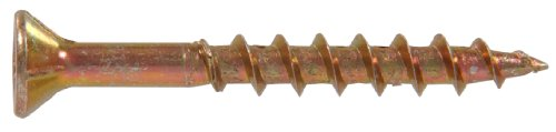 The Hillman Group 48254 8 X 1-Inch Square Drive Multipurpose Wood Screw, 500-Pack (Drive Square Wood Screws)