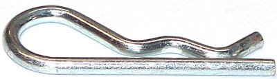 .093 X 2 1/2 Hitch (Bridge) Pins / Steel / Zinc / 2,000 Pc. Carton by Fastener SuperStore