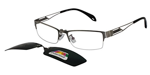 EyeBuyExpress Bifocal Eyewear Reading Glasses Men Prescriptive Clip On Glasses - Prescriptive Glasses