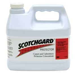 (3M Scotchgard Carpet and Upholstery Protector - Concentrate4 Gallons = 1 Case 8090)