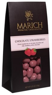 Marich Chocolates-Chocolate Strawberries, 4.25 oz.
