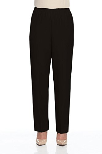 Alfred Dunner Proportioned Pull On Pants