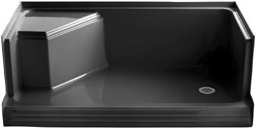 7 Black Shower Receptor - 3