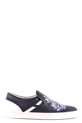 Hogan Slip On Sneakers Uomo MCBI148524O Pelle Blu