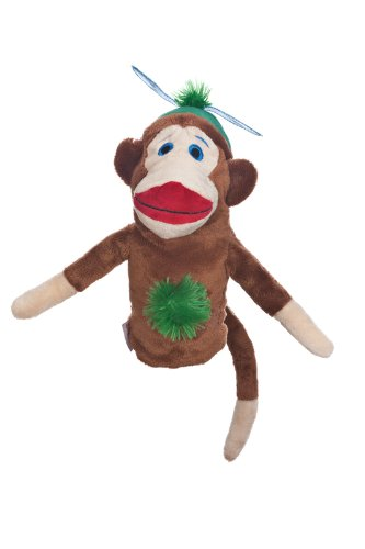Daphne's Monkey Made of Sockies Hybrid Headcover (Girl)