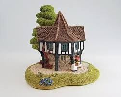 Lilliput Lane Flower Sellers, Made In England