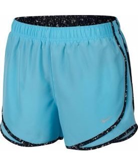 2b05dbea49d9 Galleon - Nike Womens 3 Dry Tempo Running Shorts (Vivid Sky/Black/Wolf  Grey, Large)