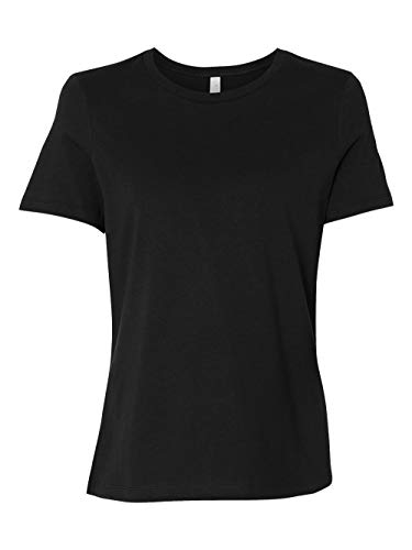 Bella Wholesale (Bella + Canvas Women'S Relaxed Jersey Short Sleeve Tee (Black) (2X))