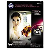 ** Premium Plus Photo Paper, 80 lbs., Glossy, 8-1/2 x 11, 50 Sheets/Pack **