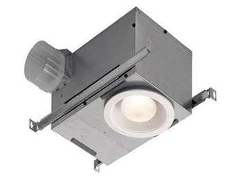 Nutone 744NT Recessed Fan/Light 70 CFM 2.0 Sones, by Nutone