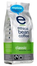 Ethical Bean Coffee Organic Classic Medium Roast Whole Bean Coffee, 12 Ounce -- 6 per case.