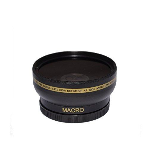 Socko 72MM 0.43x Glass Pro HD Wide Angle Lens f/EF 135mm f/2L USM, EF 50mm f/1.2L USM, EF 85mm f/1.2L II USM, Sigma Lenses - 18-300mm f/3.5-6.3 DC Macro OS HSM Contemporary, 18-35mm f/1.8 DC HSM Art (Nikkor 28 80mm F 3-3 5-6 D)