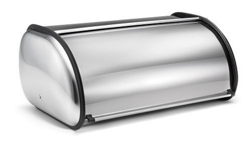 - Polder 216204 Deluxe Stainless Steel Bread Box by Polder
