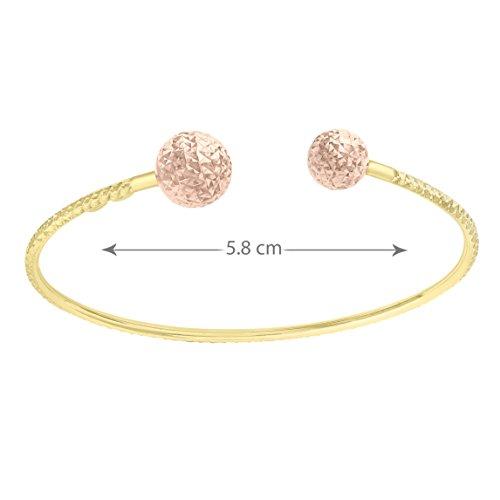 Carissima Gold - Bracelet - (375/1000) - Or bicolore - Femme