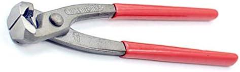 HYBJP ツールハード ウェアケーブルクランプ 炭素鋼 鍛造 モノクロディッププラスチックネイルプライヤードイツくるみ割り人形ハンドツール (Size : 9 inch)