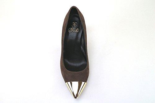 Campi Fabi Eu Donna Camoscio Shoes 35 Ak810 Marrone HaaSZzn