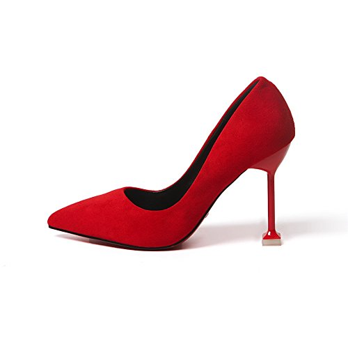 Mmsg00017 red Sandales 1TO9 Femme Compensées Inconnu an15wqn
