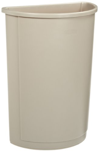 (Rubbermaid Commercial Untouchable Trash Can, 21-Gallon, Beige (FG352000BEIG))