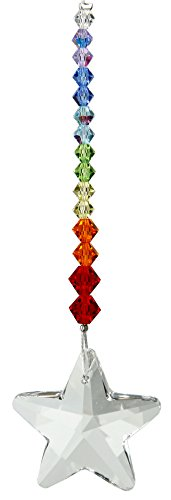 Woodstock Chimes DDRS Rainbow Makers Suncatchers Crystal Daydream, Star