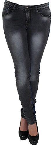 Sotala - Vaqueros - para mujer azul y negro
