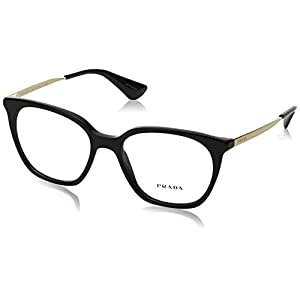 Prada Women's PR 11TV Eyeglasses Black 53mm