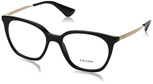 Prada Women's PR 11TV Eyeglasses Black 53mm