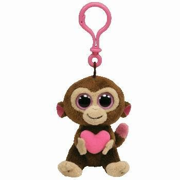 Amazon.com  Ty Beanie Boos - Casanova-Clip the Monkey  Toys   Games 252c4f921c2