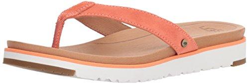 - UGG Women's Lorrie Flat Sandal, Fusion Coral, 9 M US