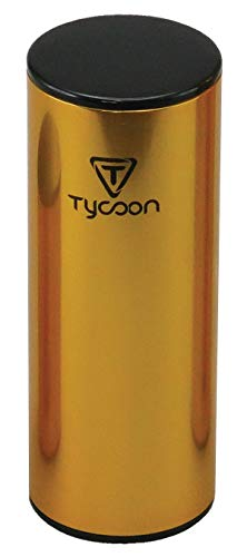 Tycoon Percussion 5 Inch Gold Plated Aluminum Shaker ()