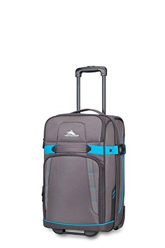 High Sierra Evanston Carry On Upright Luggage, Slate/Mercury/Pool