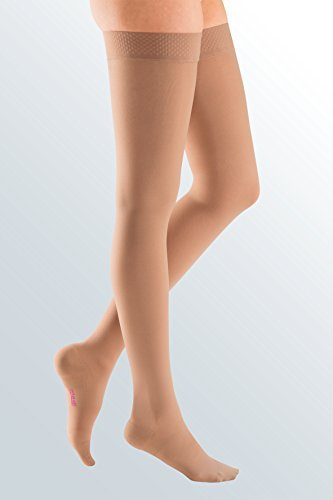 mediven plus 30-40 mmHg Compression Thigh High Closed Toe [並行輸入品] B07QQZM14W
