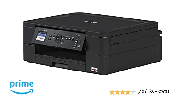 Brother DCP J 572 DW, Equipo Multifunción de Tinta (A4, Wi-Fi, Impresión Dúplex), USB; WiFi; Wi-Fi Direct; Conexión móvil y Cloud, Negro