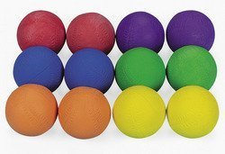 Cool Colorful Rubber Baseballs (1 dozen) - Bulk for sale  Delivered anywhere in USA