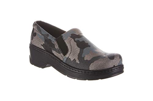 Klogs Footwear Women's Naples Medium Blue CAMO Size 060